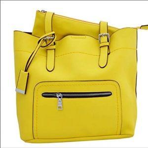 Handbags - 💕Last 1 💕Large Yellow MoDa Tote⭐️
